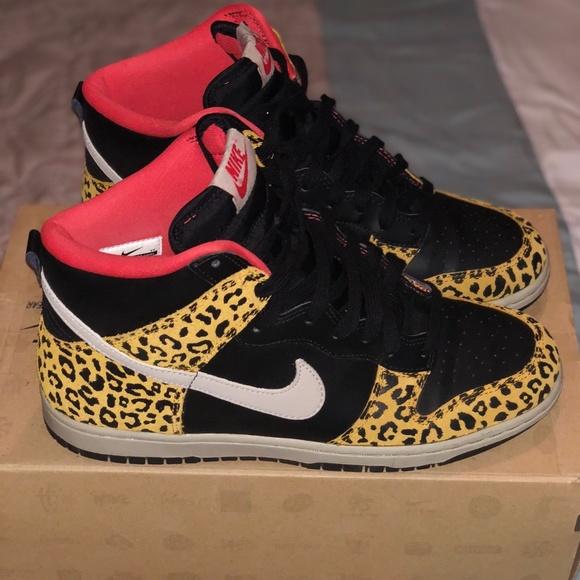 Nike Dunk High Skinny W Schuhe leopard weiss im WeAre Shop